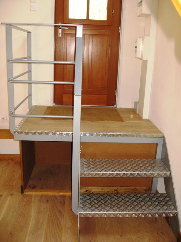 escalier-caillebotis