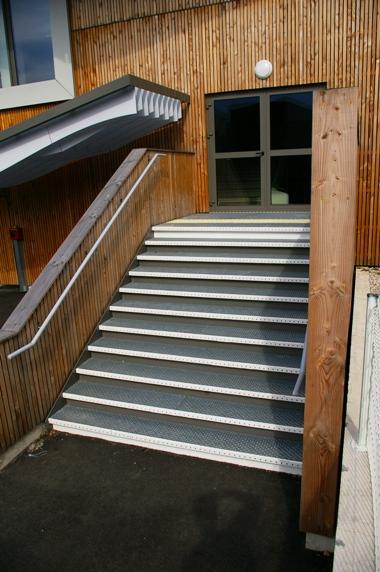 escalier-metallique extérieur
