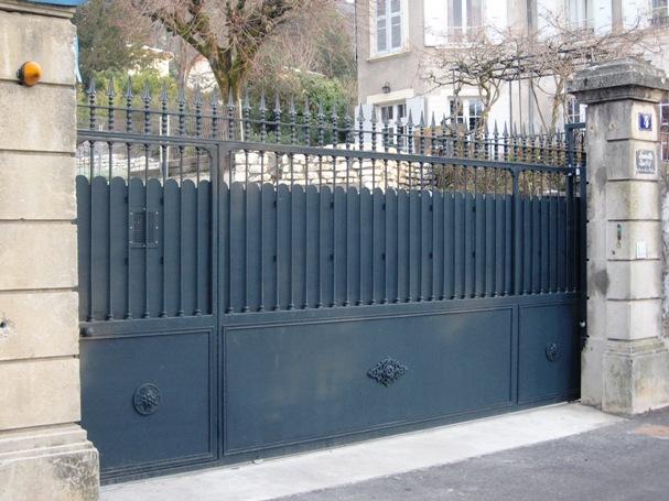fabricant portes portails m tal inox bois verre brut. Black Bedroom Furniture Sets. Home Design Ideas